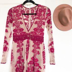 Temecula Maxi Dress--For Love & Lemons/Free People
